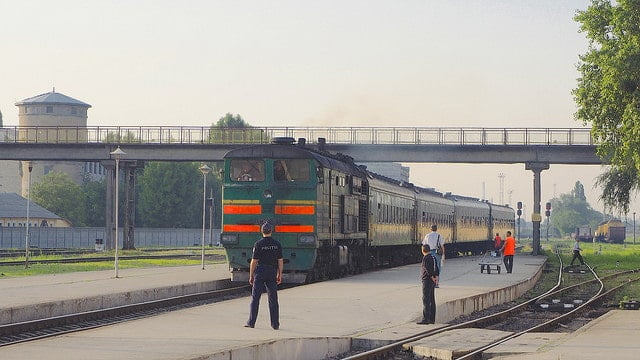 Train in Moldova