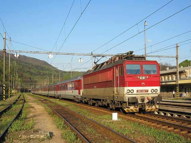 modern train slovakia