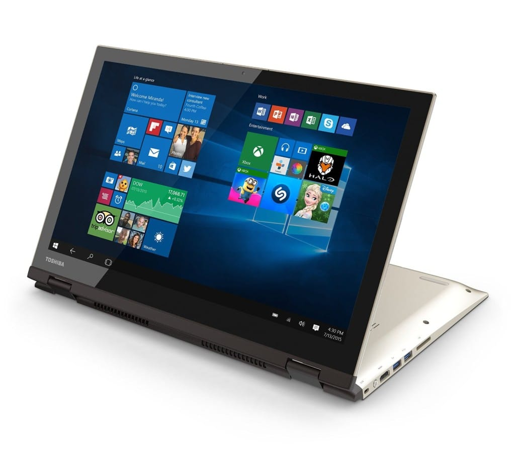 toshiba satellite fusion laptop