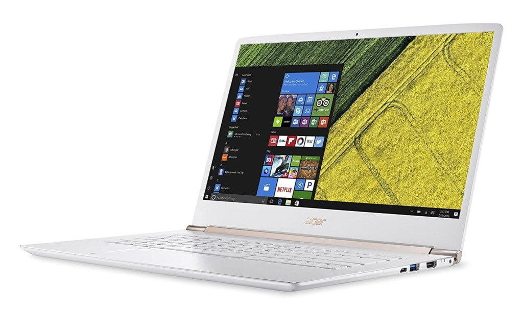 best white laptops 2018