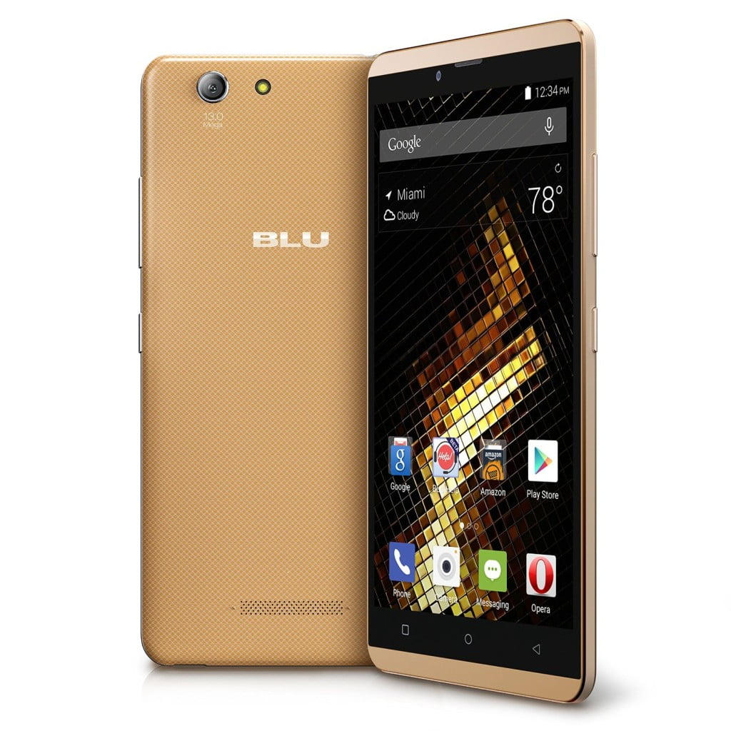 blu vivo xl gold