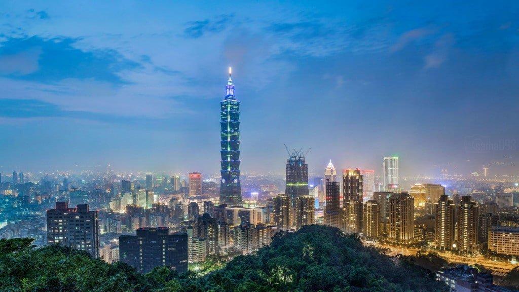 Taipei City by sama093
