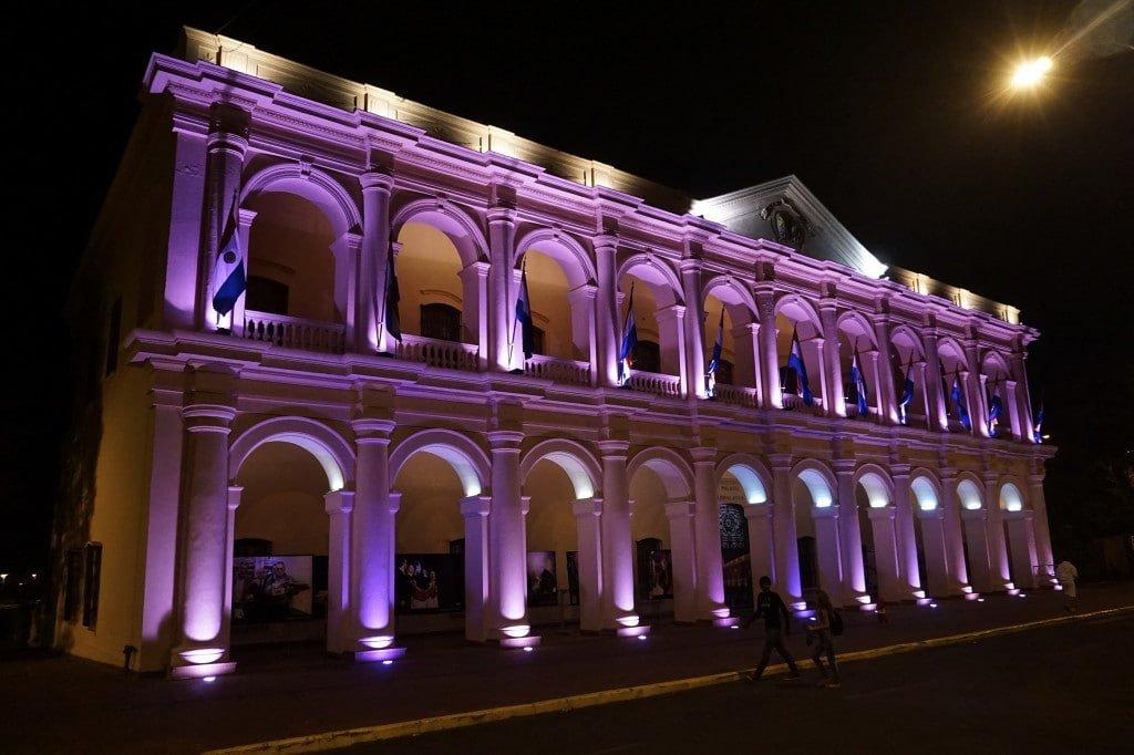 asuncion-paraguay-night