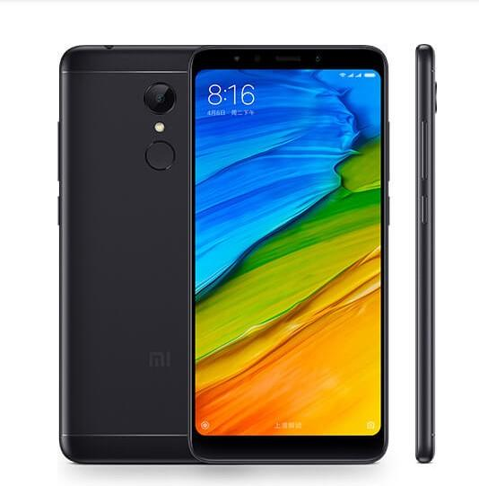 xiaomi redmi plus 5 black
