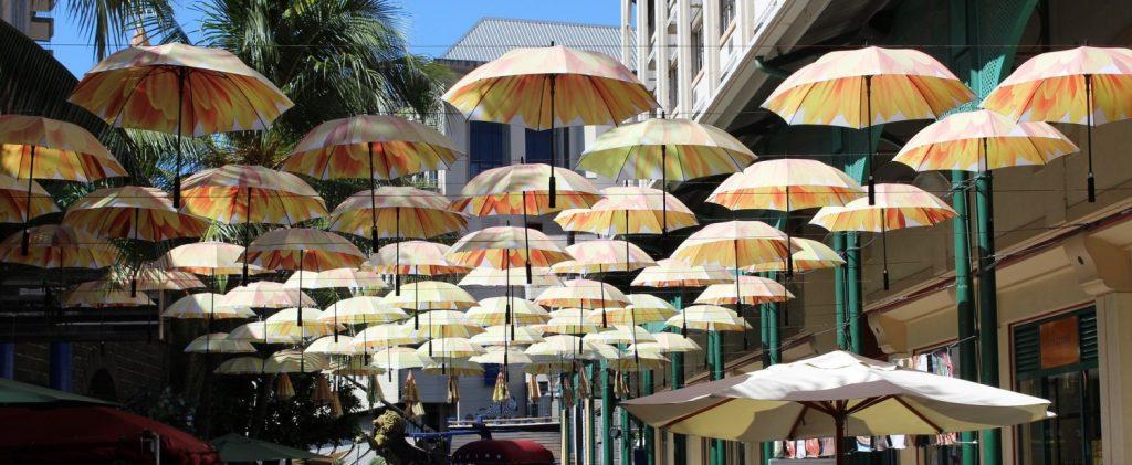 parasols mauritius