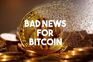 bad news for bitcoin