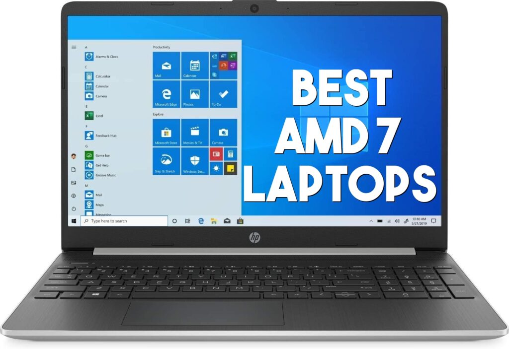 best ryzen amd 7 laptops